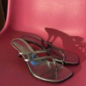 Via Spiga silver sandals
